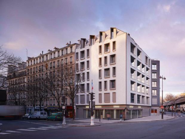 16 logements locatifs boulevard de la Villette à Paris 10 par Fresh Architectures