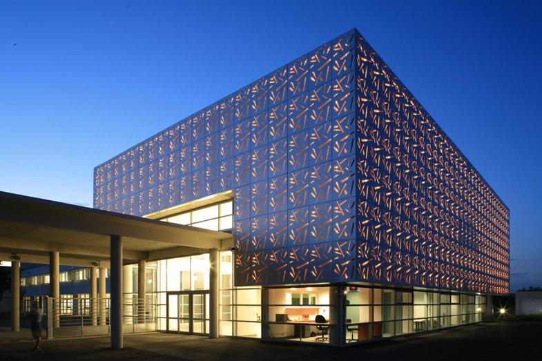 Collège Rosa Parks à Cavaillon - AURA-André Jollivet arch
