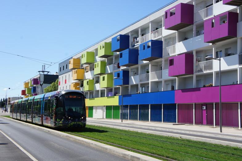 Réhabilitation de 481 logements locatifs sociaux en BBC EFFINERGIE.