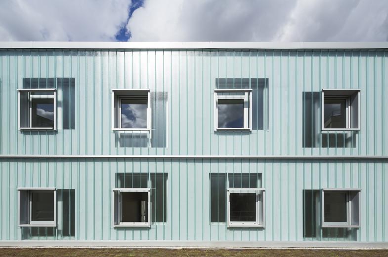 Crèche 60 berceaux + 13 logements étudiants, ZAC Pajol