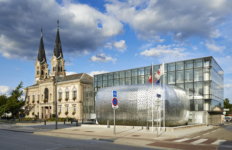 Extension de l'Hôtel de Ville d'Illkirch-Graffenstaden