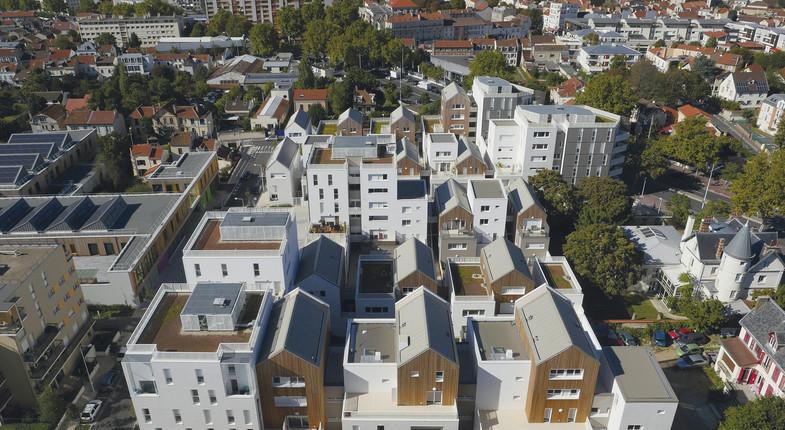 157 logements et locaux d'activités à Nanterre