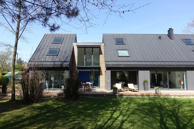Extension et Rénovation thermique et architecturale d'un pavillon