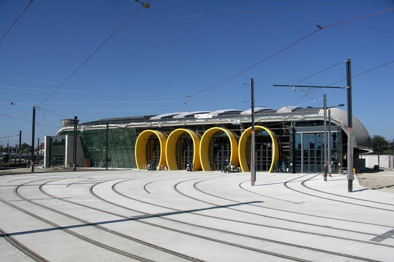 Centre de maintenance et de remisage tramway b d'Orléans