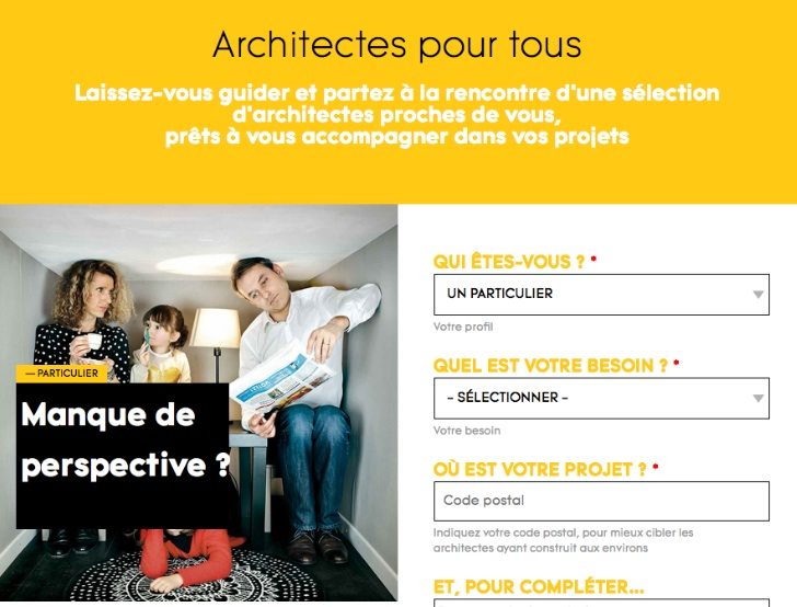 architectes pour tous ordre des architectes. Black Bedroom Furniture Sets. Home Design Ideas