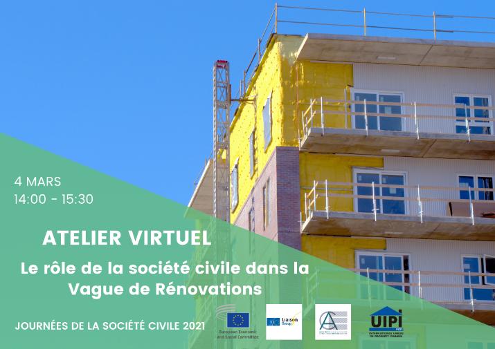 Le rôle de la société civile dans la Vague de Rénovations