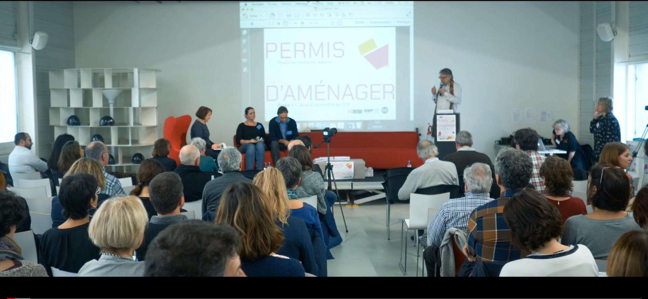 Vidéo Séminaire Permis d'aménager - étape 1 à Bordeaux 06/12/18