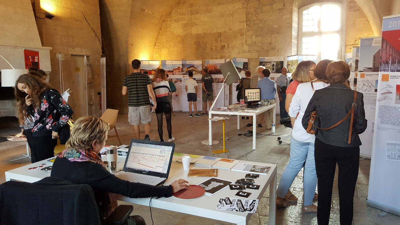 architecture en f te villeneuve l s avignon 30 ordre. Black Bedroom Furniture Sets. Home Design Ideas