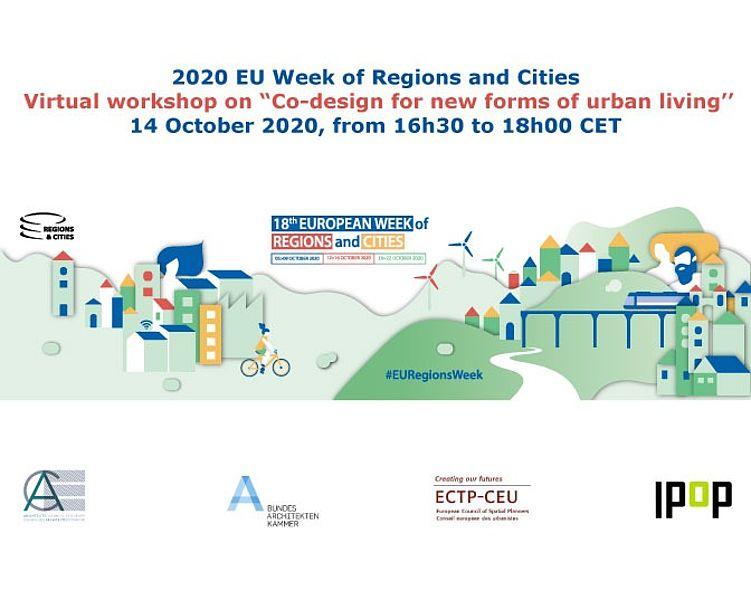 """telier virtuel sur la """"Conception participative pour de nouvelles formes de vie urbaine"""""""