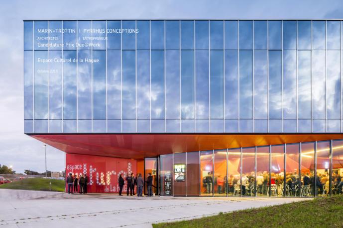 Espace culturel Beaumont-Hague (50) PERIPHERIQUES arch.