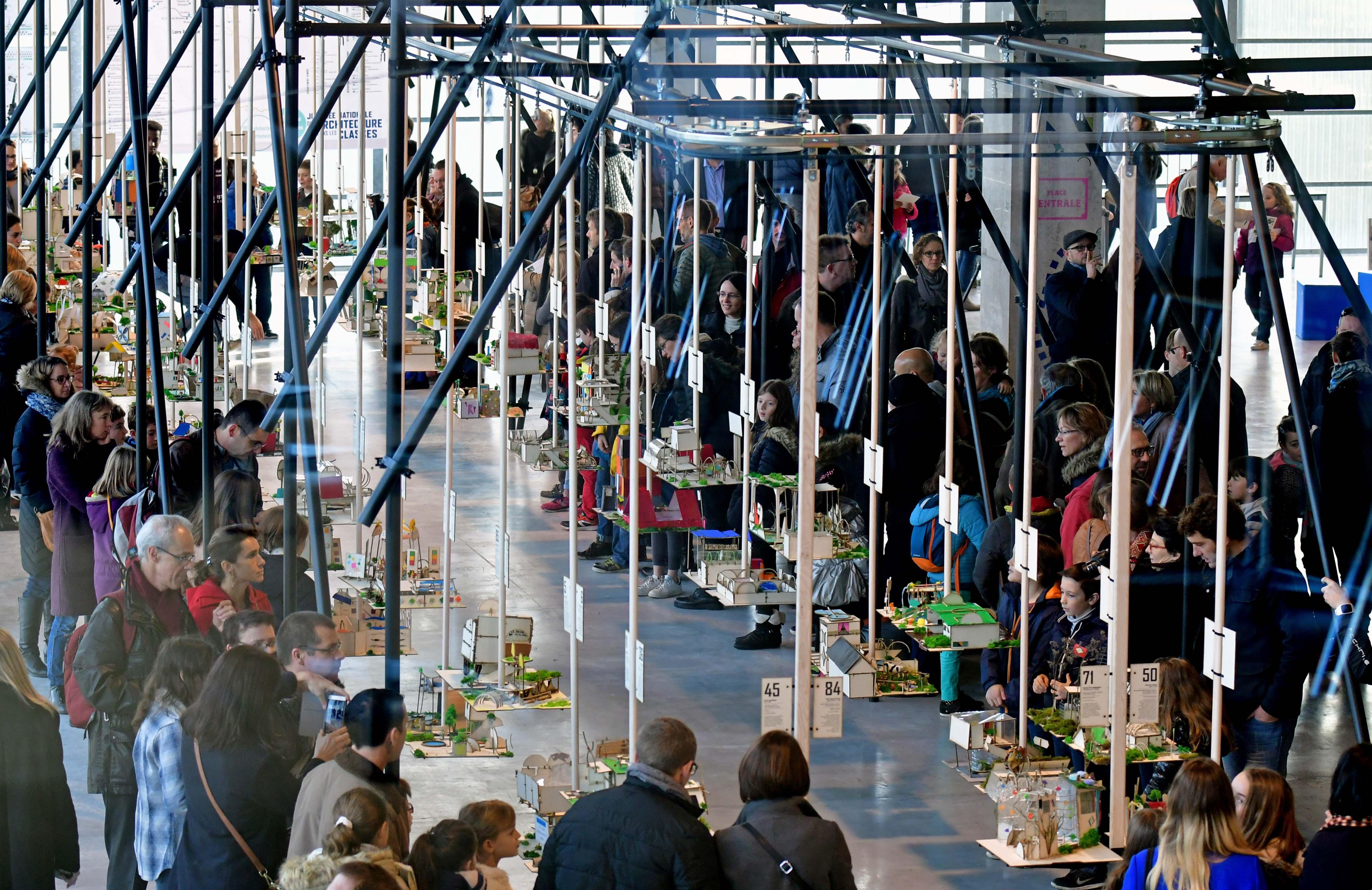 Journ e nationale de l 39 architecture dans les classes franc succ s de la - Journee de l architecture ...