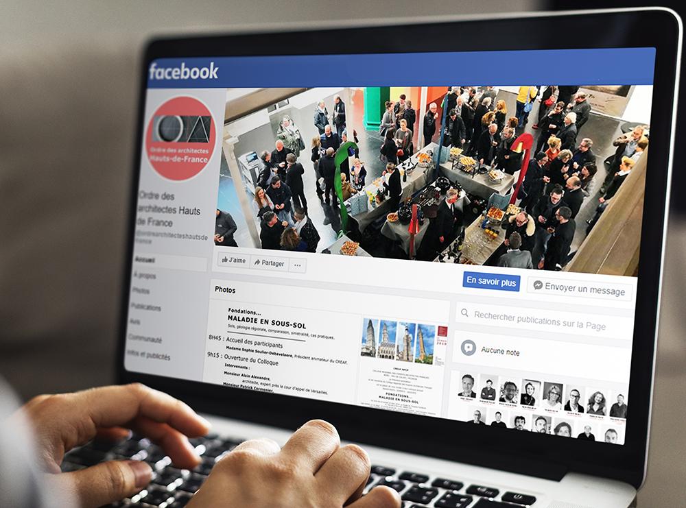 Facebook CROA Hauts-de-France