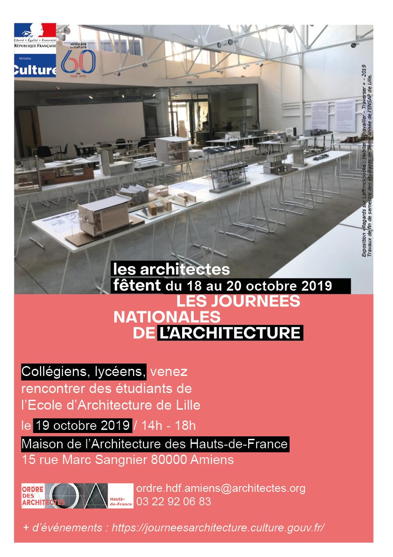 Ordre Des Architectes Amiens le croa hdf fête les journées nationales de l'architecture