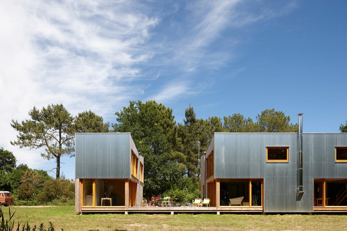 Maison à Cracc'h, prix Architecture Bretagne 2011 - AA41 architectes (Photos:S. Chalmeau)