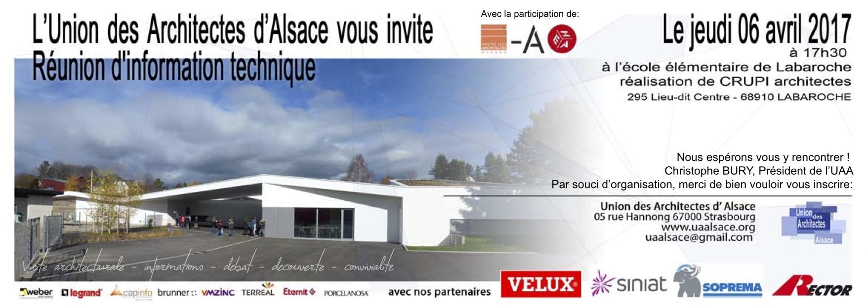 Invitation RIT UAA Tour à Labaroche
