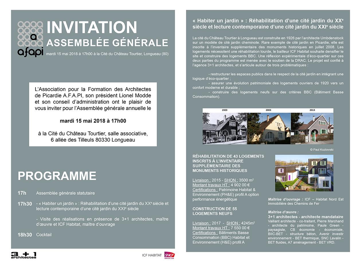 Invitation AG AFAPI
