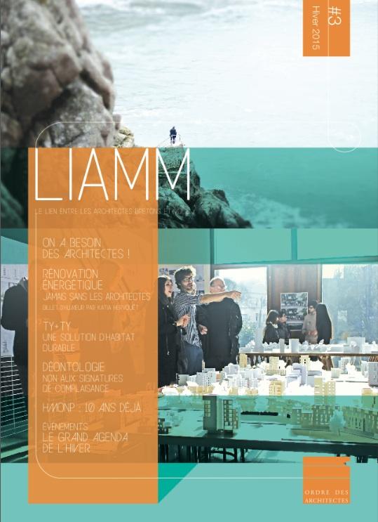Liamm 3 hiver 2015 16 ordre des architectes for Ordre des architectes centre