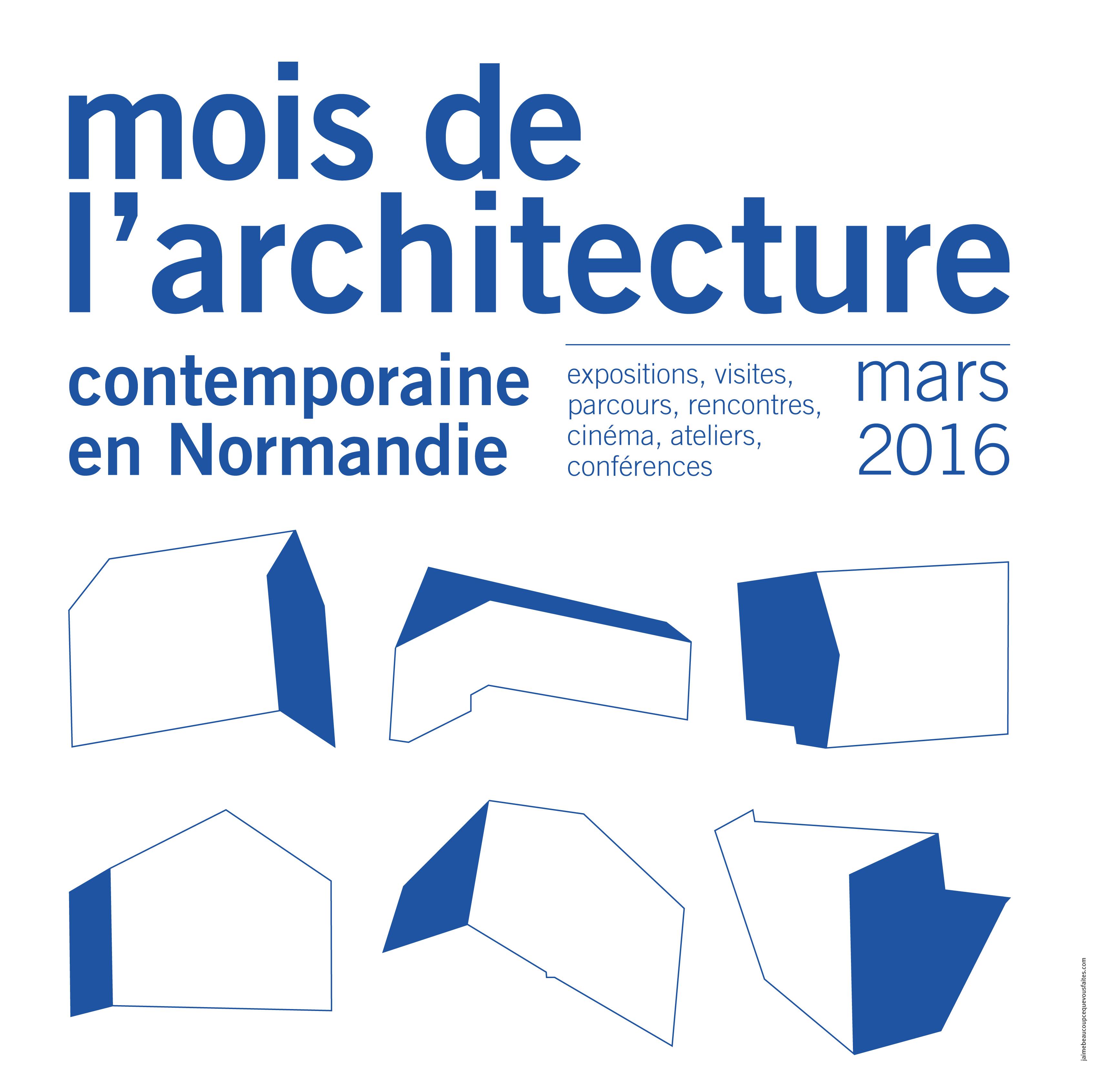 visuel-Mars, mois de l'architecture contemporaine en Normandie