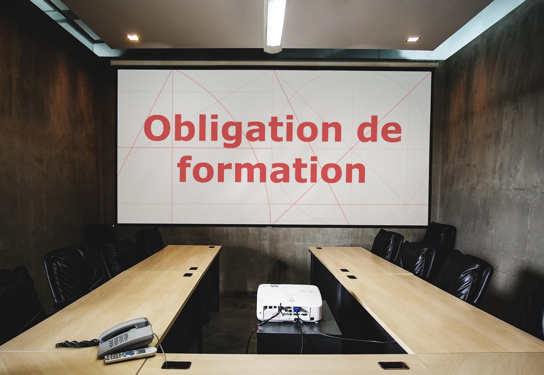 Obligation de formation