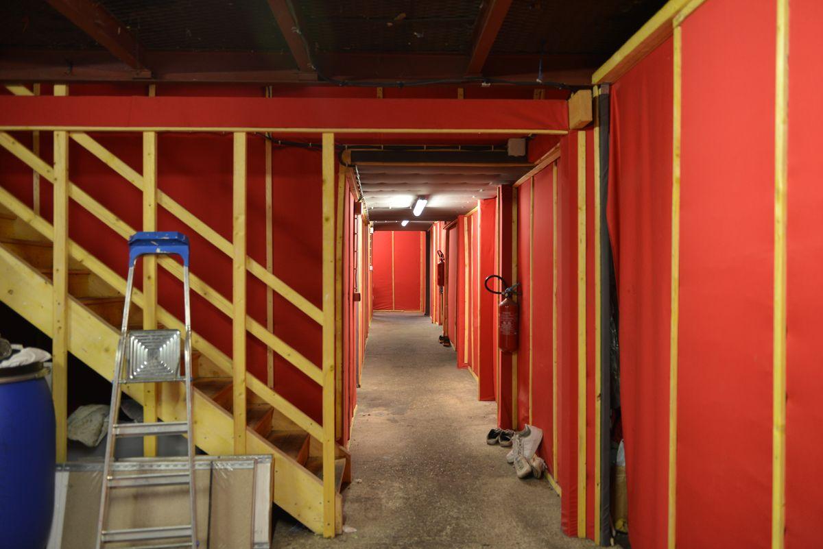 Sécurisation et aménagement d'un squat à Montreuil en 2015