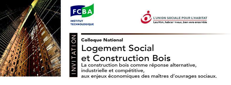 colloque logement social et construction bois 31 mars et 1er avril bordeaux ordre des. Black Bedroom Furniture Sets. Home Design Ideas