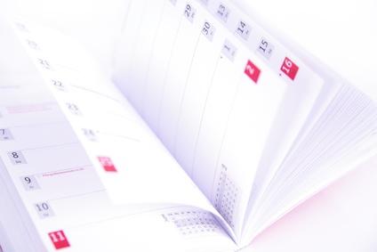 promotion de l'architecture calendrier annuel