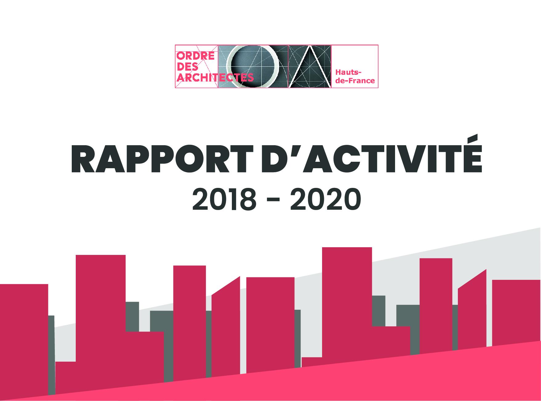 Rapport d'activité 2018 - 2020
