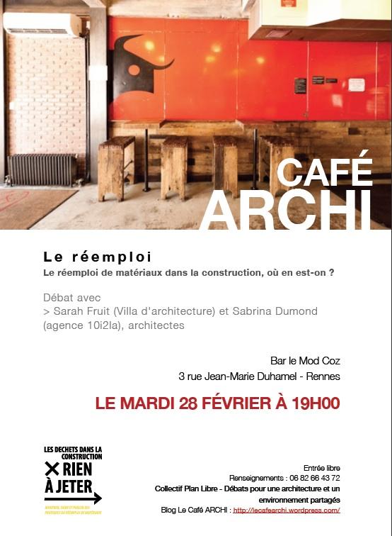 Caf archi 28 f vrier rennes ordre des architectes for Ordre des architectes centre