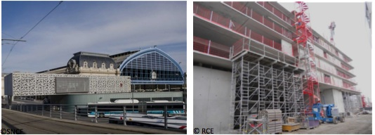 visite de chantier l 39 extension de la gare de bordeaux st jean une nouvelle porte d 39 entr e. Black Bedroom Furniture Sets. Home Design Ideas