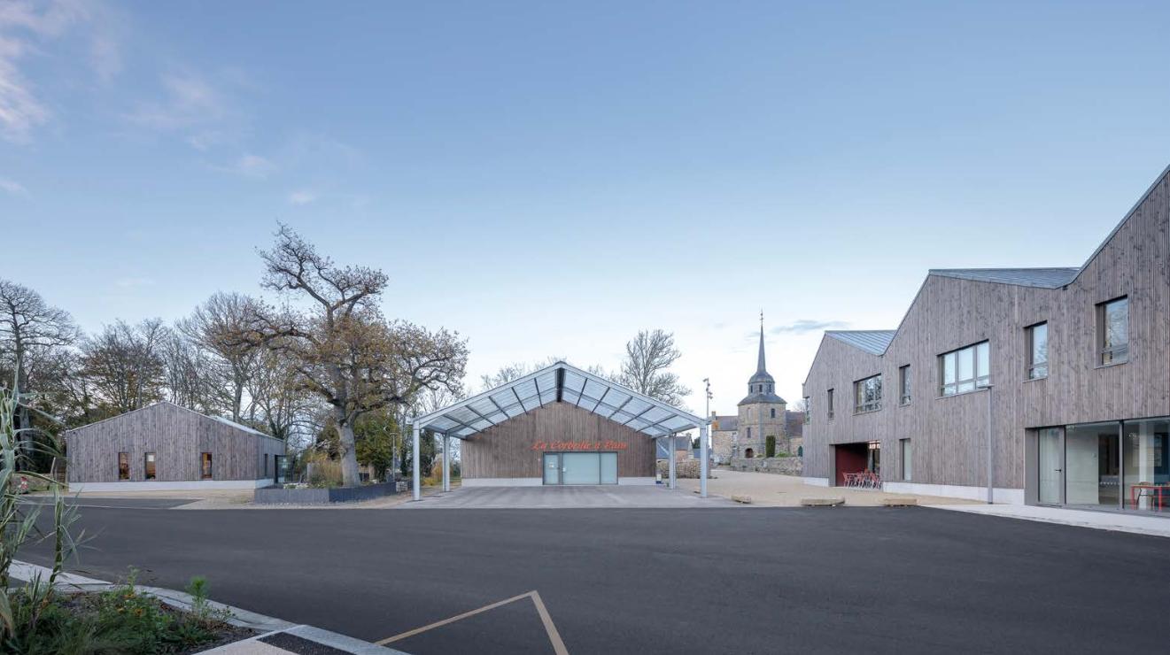 Aménagement du centre-bourg de Tréveneuc / Tréveneuc (22)Nunc Bretagne Architectes, B. Houssais Architecture
