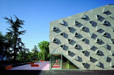 Le Silex, Salle de Musiques Actuelles - BMC2 – Arnaud BICAL et Laurent COURCIER architectes