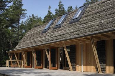Seaweed house