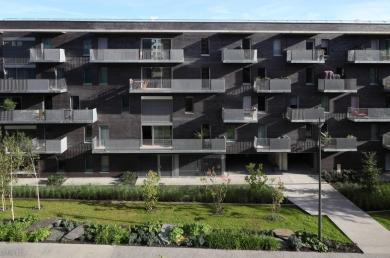 74 logements en accession sociale à la propriété et locatifs, à Clermont Ferrand