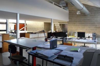 Atelier d'architecture de l'agence Groupe 3D
