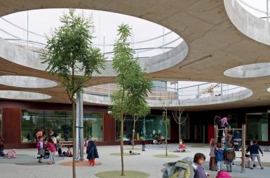 Groupe scolaire Lucie Aubrac, Toulouse, Laurens et Lousteau arch. (© S Chalmeau)