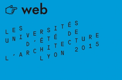 Analyse des contributions web Universités d'été de l'architecture 2015