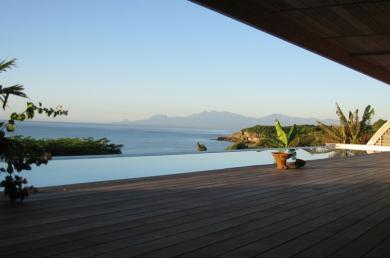 Villa seau blue, Sainte-Anne, Guadeloupe, Fritz Grenon, FGA