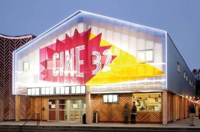 Ciné 32 à Auch, Encore heureux architecte (N. Delon, J. Choppin) (© Sébastien Normand)