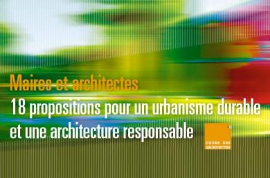 Couverture - Maires et archtectes _ 18 proositions...