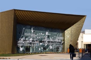 Conservatoire de musique de Montluçon, Carles, Hebras, Maltrias arch