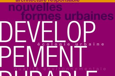 """DVD-Rom """"Architecture responsable et développement durable"""""""