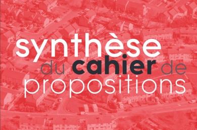 Synthèse des propositions des architectes