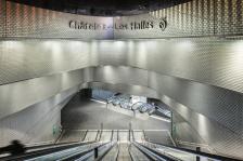 DUO@WORK Carreau en verre - Châtelet les Halles - Arch. Patrick Berger & Jacques Anziutti