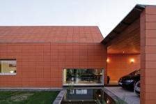 Maison bressane contemporaine, Severin Perreaut arch