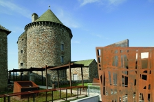 Restaurant du Coffour à Chaudes Aigues (Cantal) - Eragne, Pourreyron, Tixier, Atelier 4 architectes