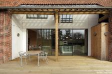 Réhabilitation et rénovation d'une grange agricole en habitation