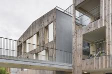 Portail, habitat participatif à Nanterre - MaO architectes (Mobile architectural Office) et tectone arch.