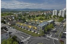 Construction de 20 logements effinergie+, 7 maisons passives et 2 locaux tertiaires rue d'Amsterdam à Colmar