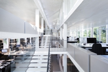 Bureaux de l'agence d'architecture du groupe A+