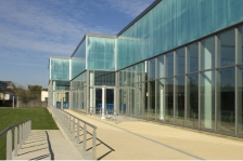 Centre aquatique de 3 cantons, Mouzou, BVL architecture et Matières d'architecture © P. Stritt